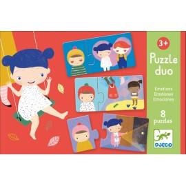 Puzzle Duo - Emoções - Djeco