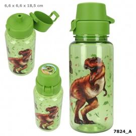 Garrafa / Cantil de plástico Dinossauro - Top Model - 400 ml