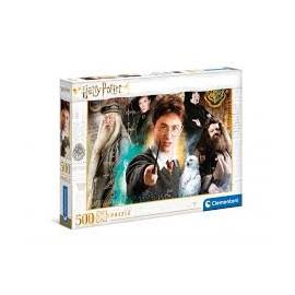 Puzzle Harry Potter - Clementoni - 500 peças