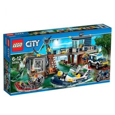 LEGO City -Detenção em Hovercraft