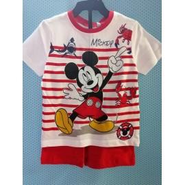 Conjunto T-Shirt + Calção - Mickey Mouse