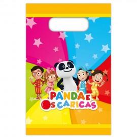 Sacos de Prenda Panda e os Caricas