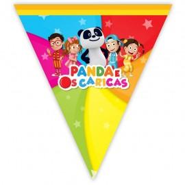 Bandeiras Triangulares - Panda e os Caricas