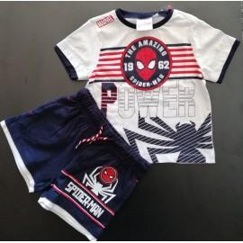 Conjunto de T-shirt + calção - Homem Aranha / Spiderman