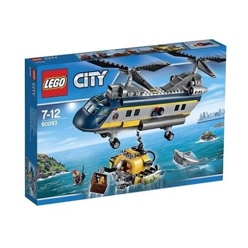 LEGO City -Helicóptero do Fundo do Mar