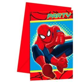Convites Homem Aranha
