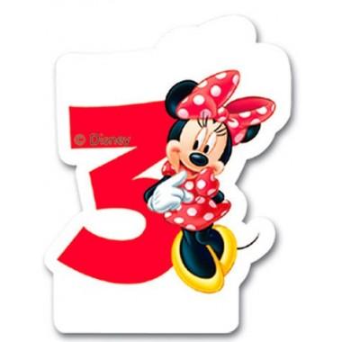 Vela de Aniversário Mickey Mouse - N.º 3