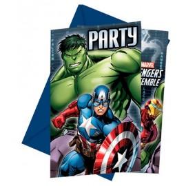 Convites Vingadores/ Avengers