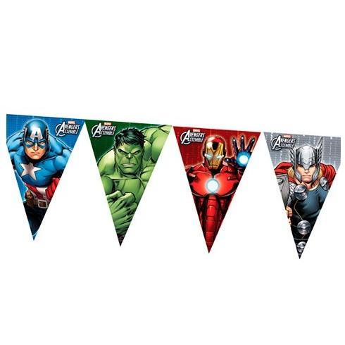 Bandeiras Triangulares - Vingadores / Avengers