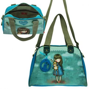 Bolsa de mão / Saco desportivo Azul - Gorjuss