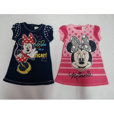 Vestido bebé - Minnie Mouse