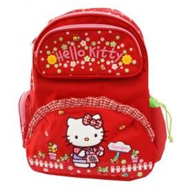 Mochila Escolar Hello Kitty Garden