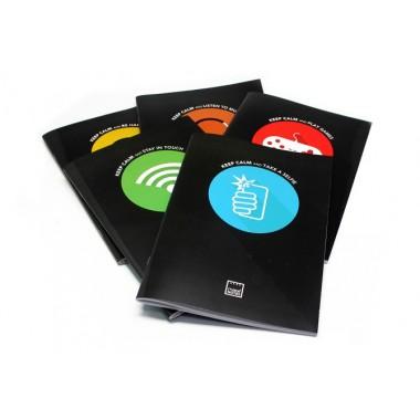 Caderno Quadrculado A4 - Keep Calm - Make Notes