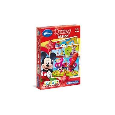 Aprendo Jogando - Quizzy Mickey - Clementoni