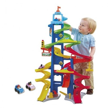 Little People - Super Pista - Fisher Price
