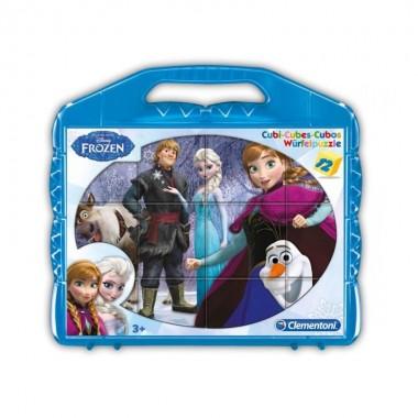 Cubos - Frozen 12 peças - Clementoni