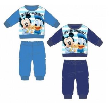 Pijama Cardado Bebé - Mickey