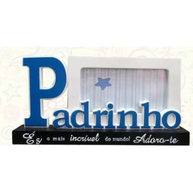 """Moldura/Porta-Fotos """"Padrinho"""""""