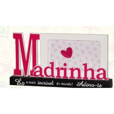 """Moldura/Porta-Fotos""""Madrinha"""""""