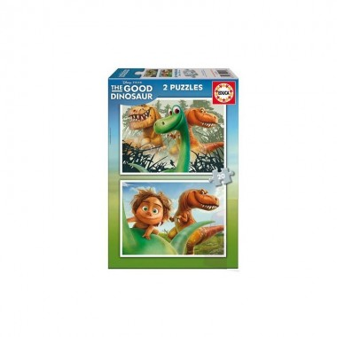 Puzzle 2 x 20 - The Good Dinosaur - Educa