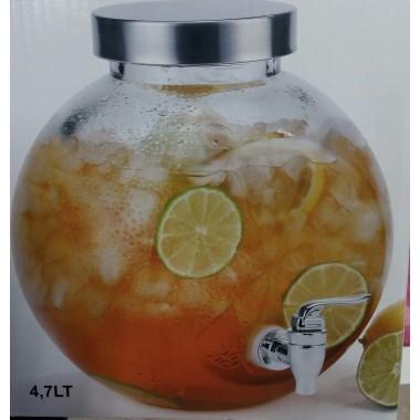 Dispensador / Frasco vidro bebidas com torneira