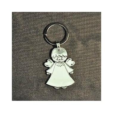 Porta-chaves  - Anjo em metal