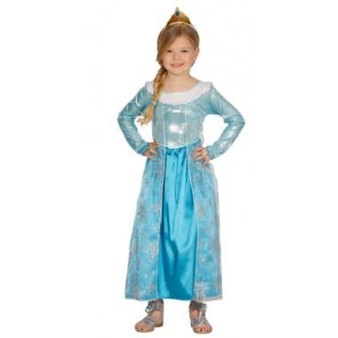 Fato de Carnaval - Princesa do gelo Elsa
