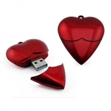 MEMORIA USB CORAÇÃO - 1GB