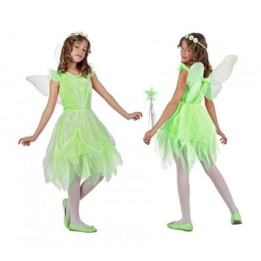 Fato de Carnaval - Fada verde - Sininho