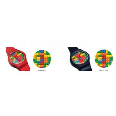 Relógio de pulso - Lego  - Make Notes