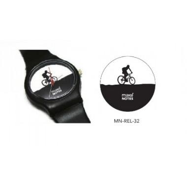 Relógio de pulso - Bicicleta - Make Notes