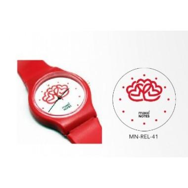 Relógio de pulso - Corações - Make Notes