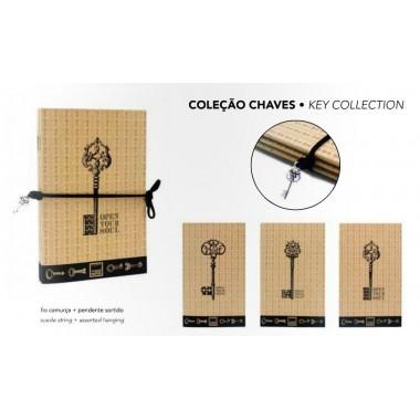 Conjunto 3 Blocos - Coleção chaves - Make Notes