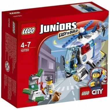 Lego Juniors - Helicóptero de perseguição da polícia