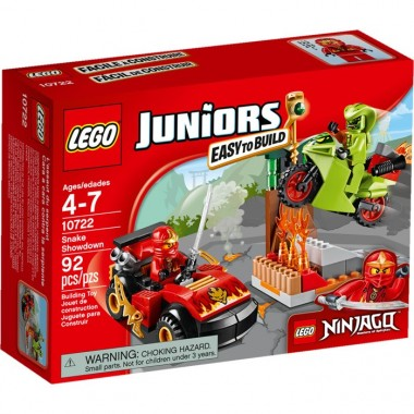 Lego Juniors - Ninjago - Confronto de Serpente