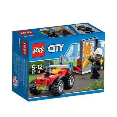 LEGO City - Veículo Todo-o-Terreno de Combate ao Fogo