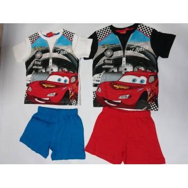 Conjunto de T-shirt + calção - Cars