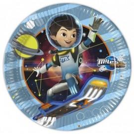 Pratos Miles do Futuro - 23 cm
