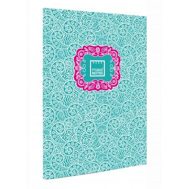 Caderno Quadriculado A4 - Cornucópias - Make Notes