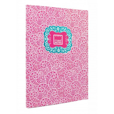 Caderno Pautado A4 - Cornucópias - Make Notes