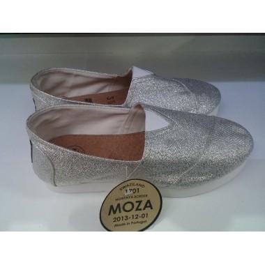 Alpercata Moza Swazi - 35 / 40 - Prata Sola Alta