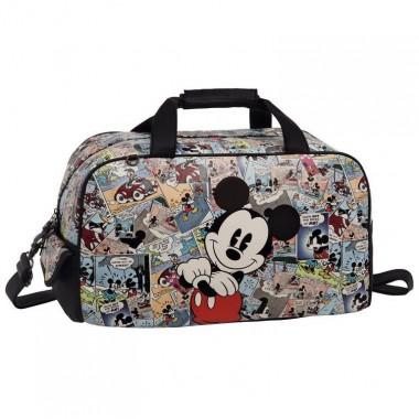 Mala / Saco de Viagem Mickey Comic - 45 cm