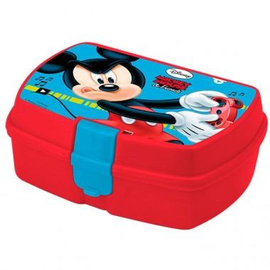 Caixa lanche / Sanduíche Mickey