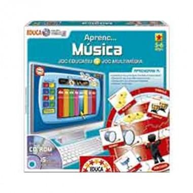 Jogo Aprendo ... Música + CD-Rom - Educa