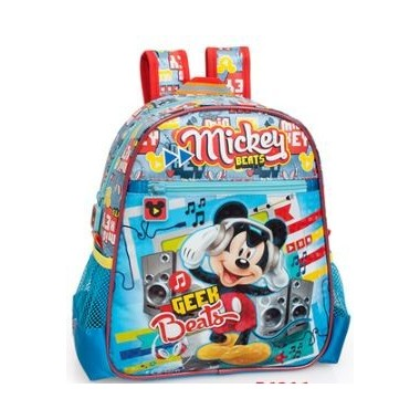 Mochila Pré - Escolar  - Mickey Beats