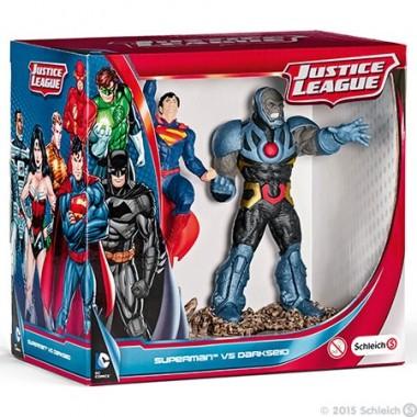 Superman vs Darkseid Scenery Pack - Schleich