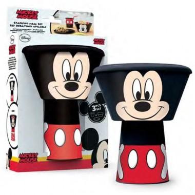 Conjunto de plástico Mickey