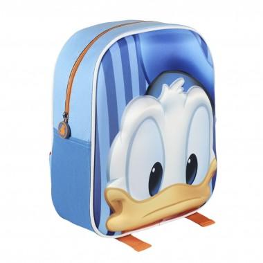 Mochila Pré-escolar 3D - Pato Donald