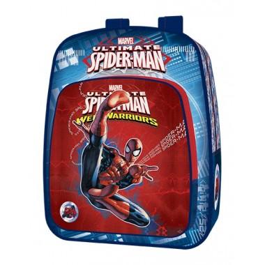 Mochila  Escolar adptável a trolley Spiderman - 40 cm