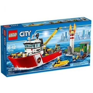 LEGO City - Camião De Serviço Dos Bombeiros